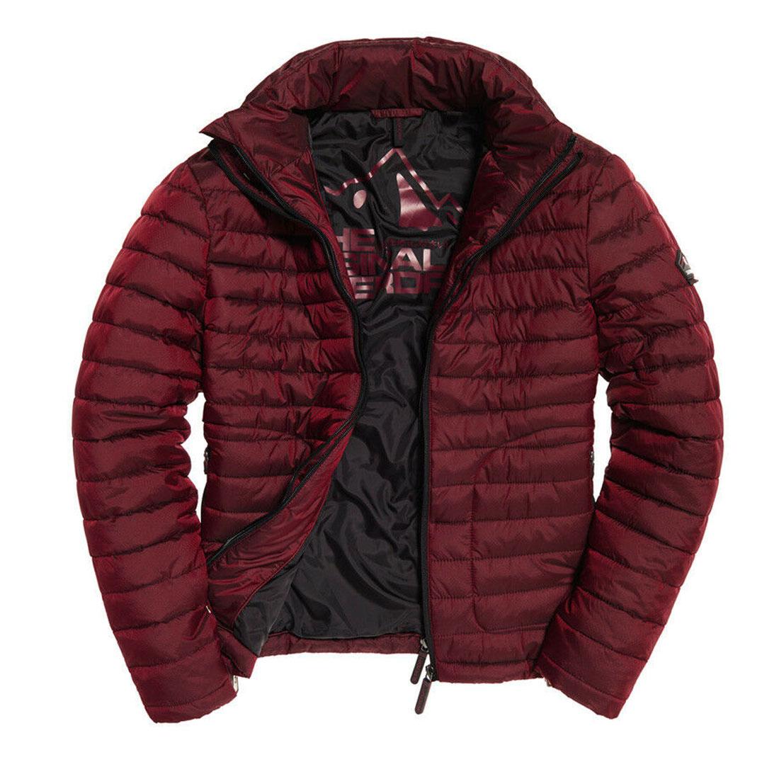 Camisa-para-hombre-Fuji-chaqueta-de-doble-cremallera