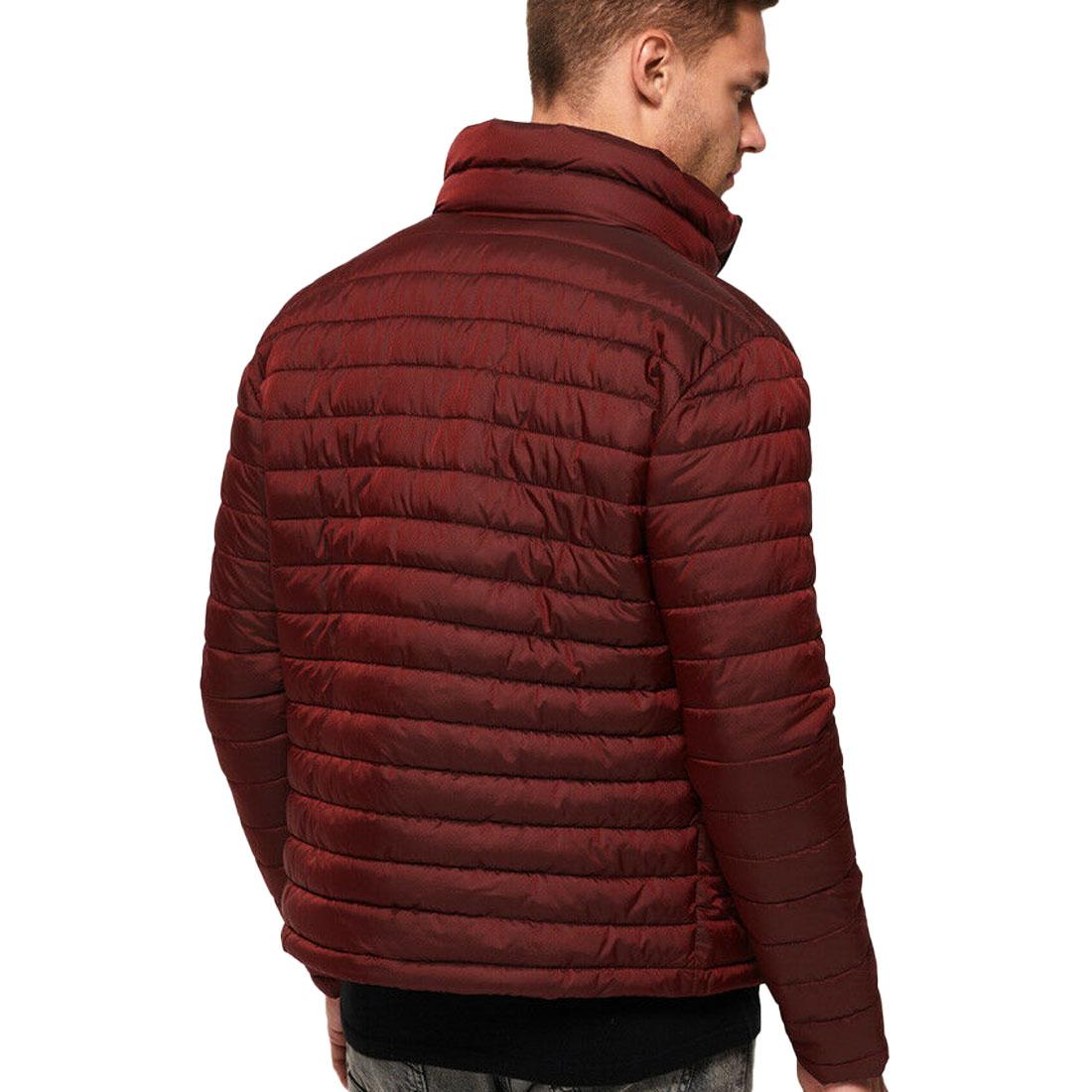 Camisa-para-hombre-Fuji-chaqueta-de-doble-cremallera miniatura 2