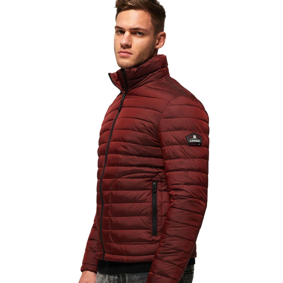 Camisa-para-hombre-Fuji-chaqueta-de-doble-cremallera miniatura 3