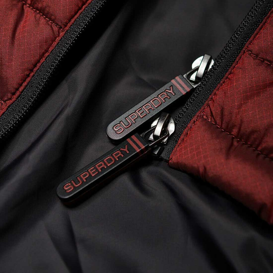 Camisa-para-hombre-Fuji-chaqueta-de-doble-cremallera miniatura 12