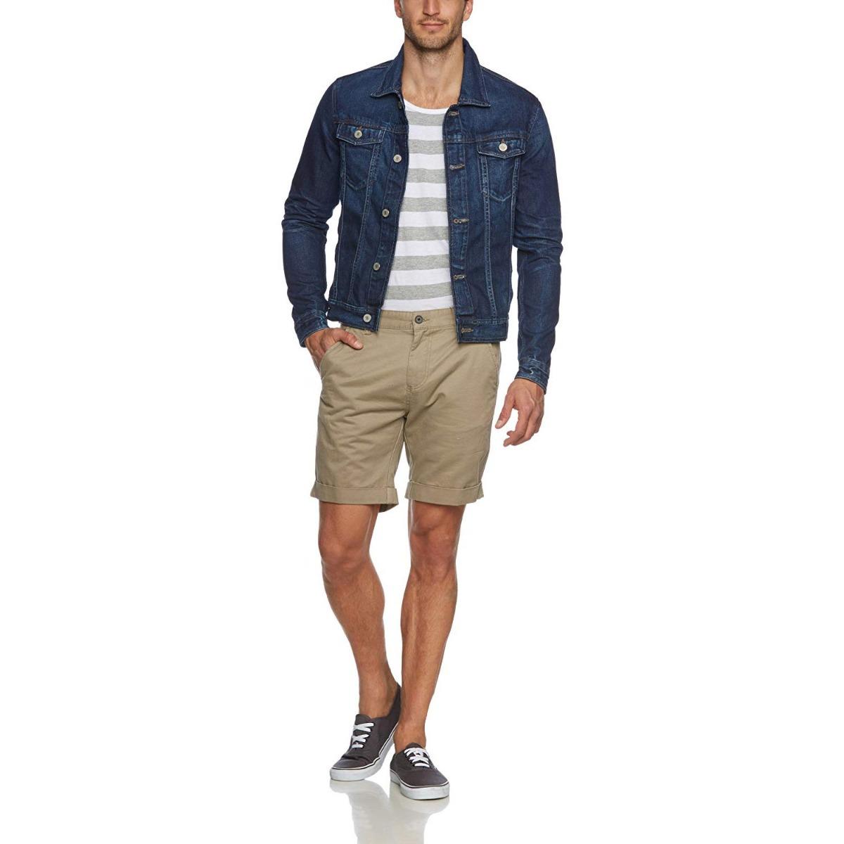 Jack /& Jones Denim Jacket Mens Long Sleeve Jean JJVC RRP £60