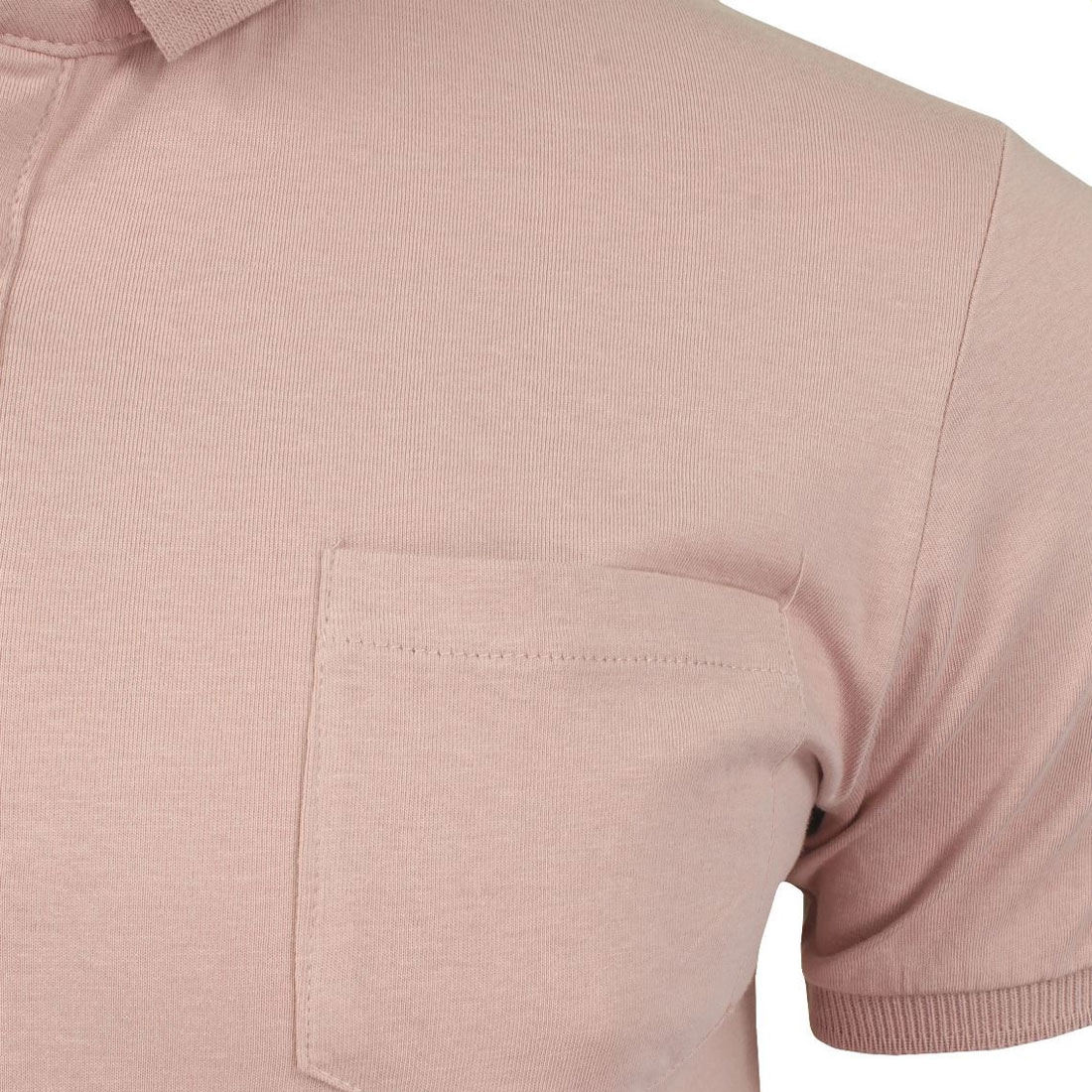 Brave-Soul-Hommes-Polo-T-Shirt-034-Julius-039-S-Coton-A-Col-Manches-Courtes-Haut-Decontracte miniature 23