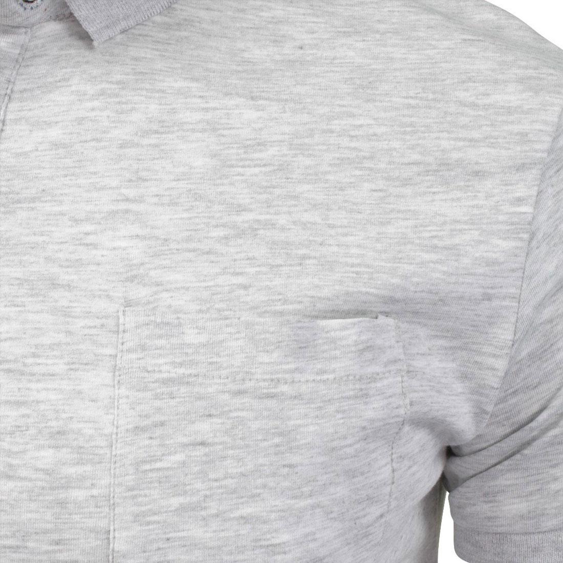 Brave-Soul-Hommes-Polo-T-Shirt-034-Julius-039-S-Coton-A-Col-Manches-Courtes-Haut-Decontracte miniature 8