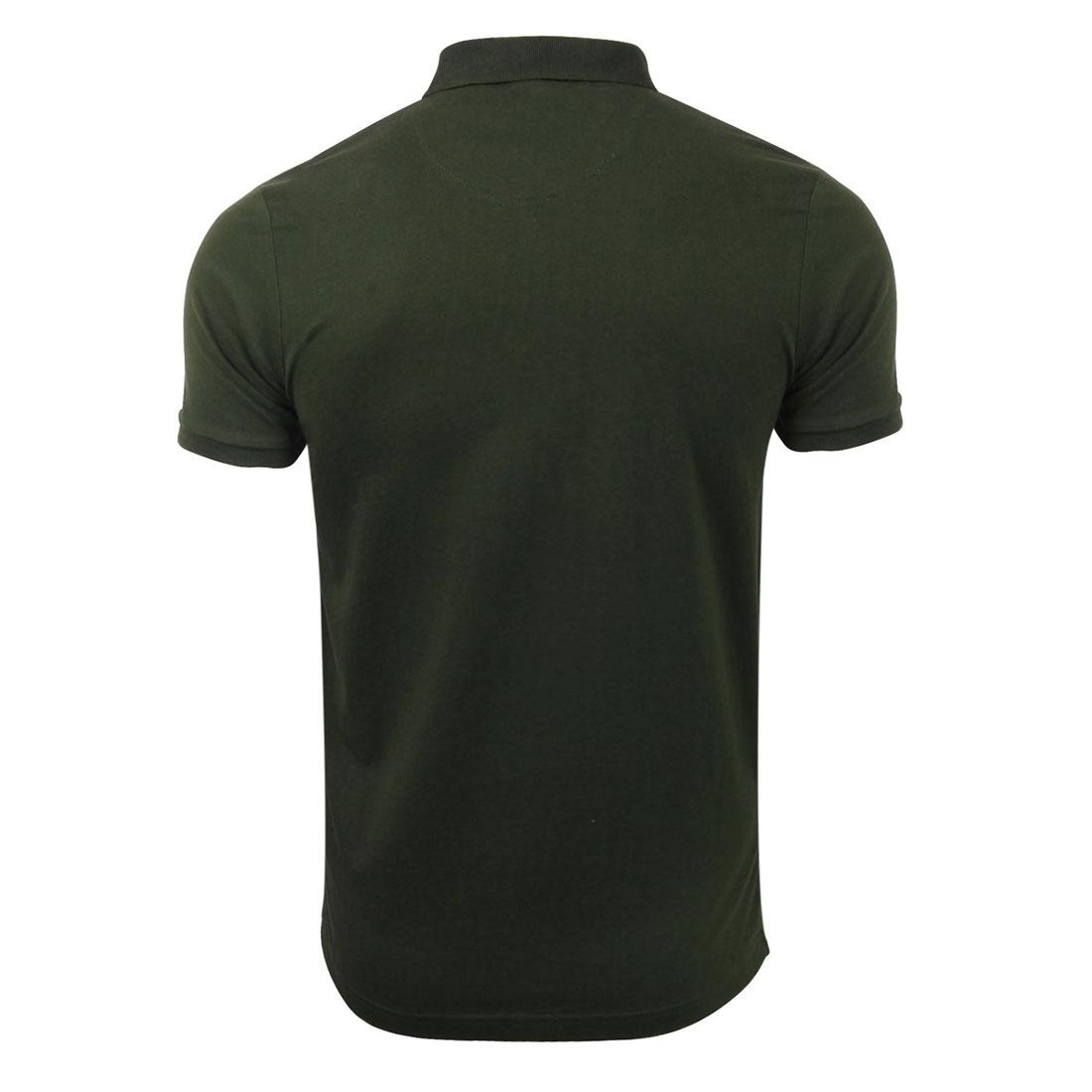 Brave-Soul-Hommes-Polo-T-Shirt-034-Julius-039-S-Coton-A-Col-Manches-Courtes-Haut-Decontracte miniature 3