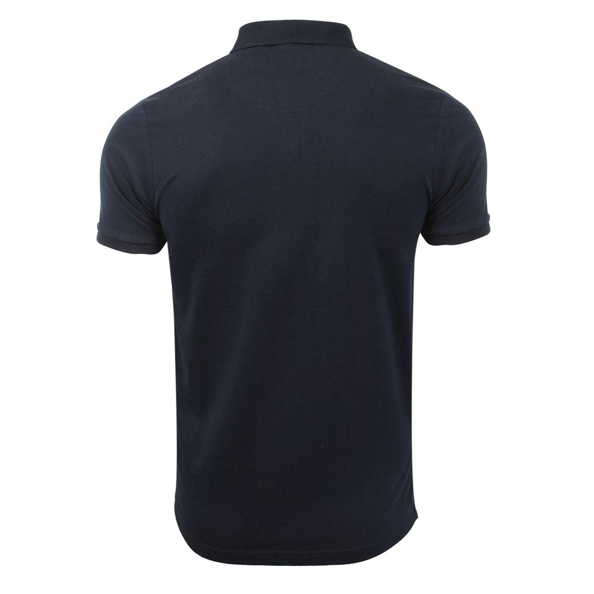 Brave-Soul-Hommes-Polo-T-Shirt-034-Julius-039-S-Coton-A-Col-Manches-Courtes-Haut-Decontracte miniature 15