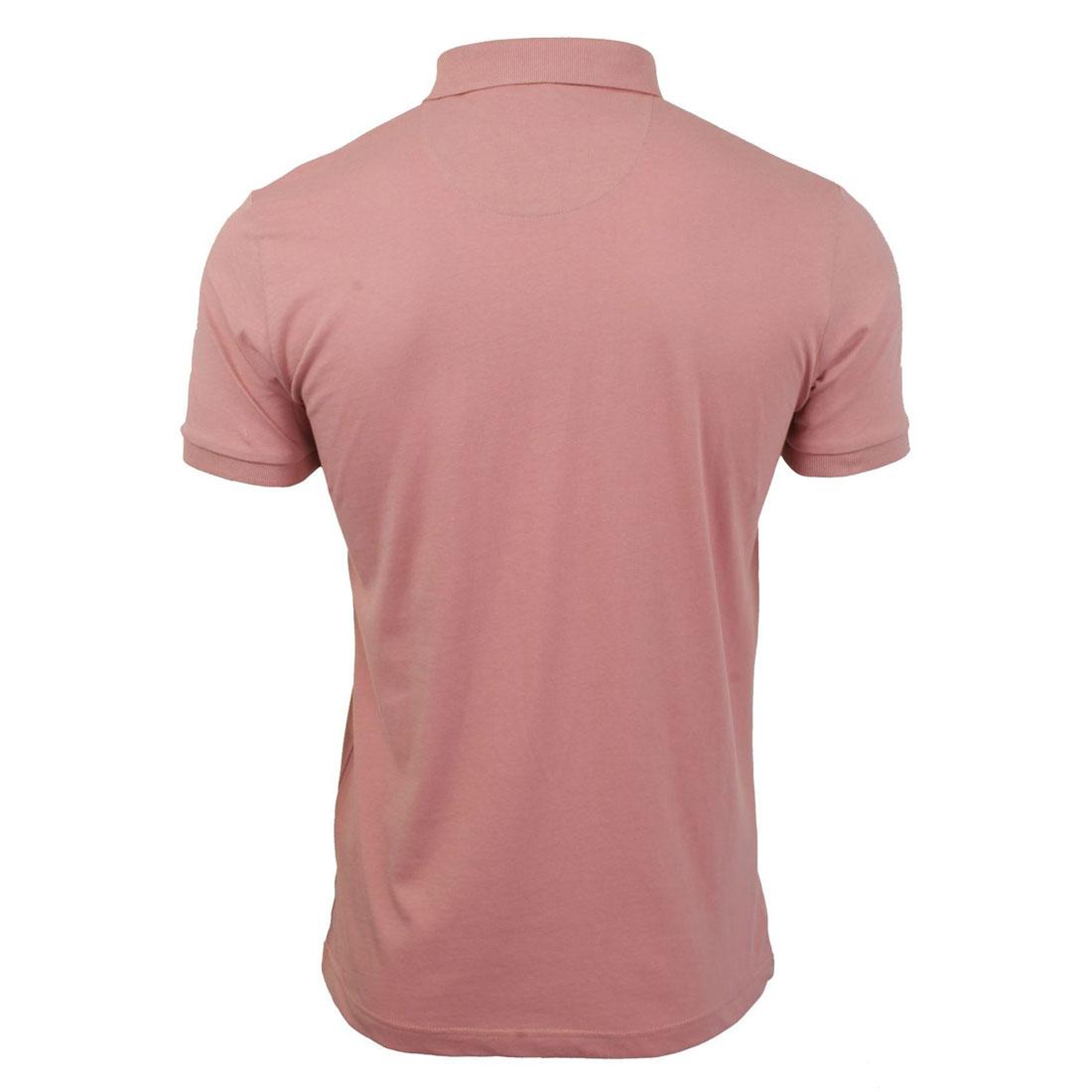 Brave-Soul-Hommes-Polo-T-Shirt-034-Julius-039-S-Coton-A-Col-Manches-Courtes-Haut-Decontracte miniature 18